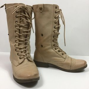 XXI Brand Lace Up Boots
